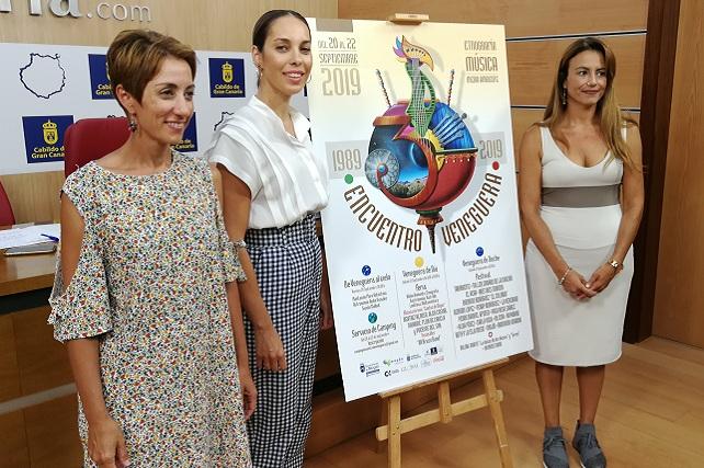 Encuentro Veneguera 2019, presentación