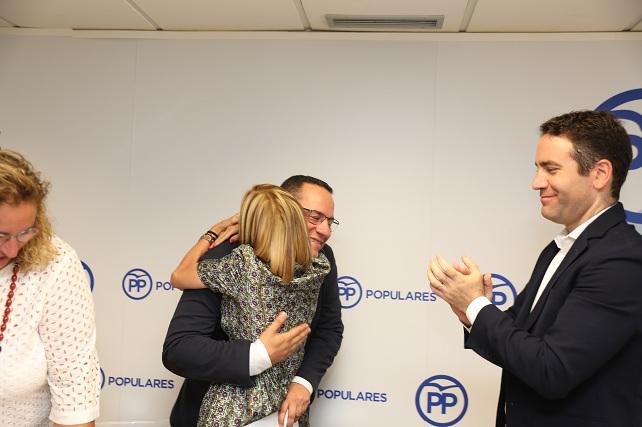 Poli Suárez Presidente del PP de Gran Canaria