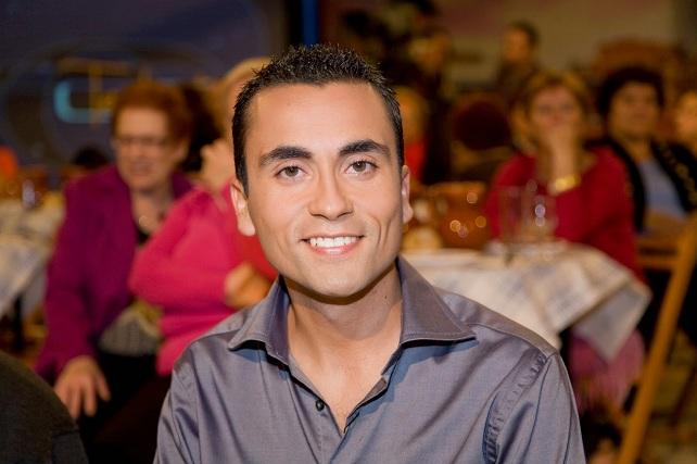 Raúl Arencibia, presentador de Telderete