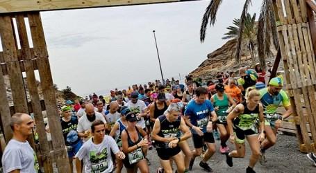 Roberto Carlos Cruz y Lorena Almeida, vencedores en los 20 kilómetros de la I ECO-Trail Lomas de Taurito