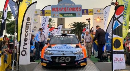Primera victoria de Yeray Lemes-Dani Rosario en otro duro Rallye de Maspalomas