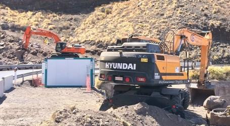 Los tractores ya trabajan en los túneles de Faneque que estarán operativos en unos dos años