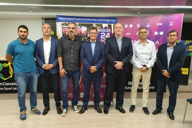 Media Maratón Alcalde Camilo Sánchez 2019, presentación