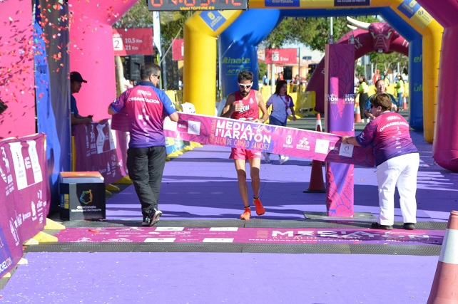 Media Maratón Alcalde Camilo Sánchez, Rubén Palomeque vencedor