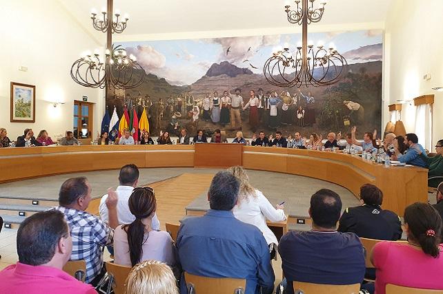 Pleno de Santa Lucía, 28 noviembre