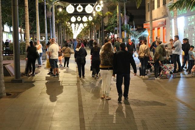 Avenida de Canarias, iluminación navideña