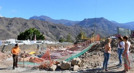 NC denuncia que el Ayuntamiento paraliza la obra del cementerio de Mogán por errores en el proyecto