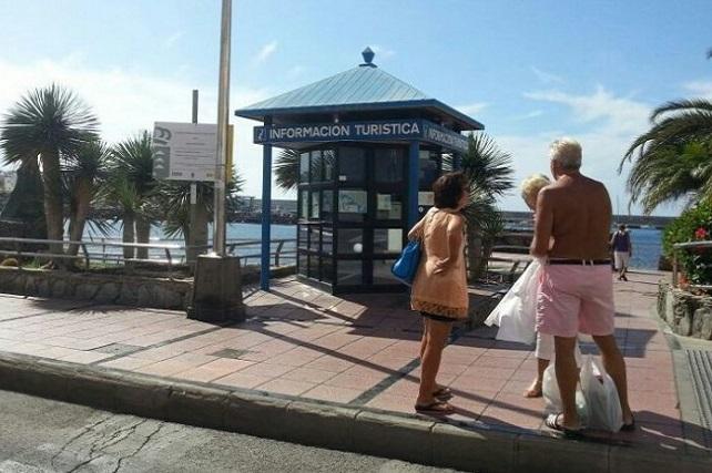 Oficina de información turística cerrada
