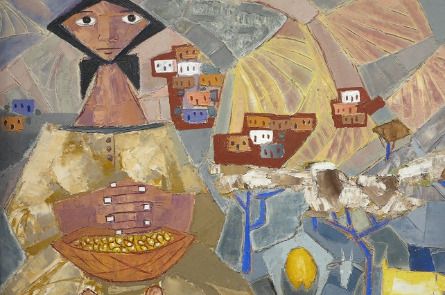 El arte de Antonio Padrón conquistará en Madrid el espacio que merece en la pintura de posguerra La primera gran exposición antológica del pintor fuera de Canarias tendrá lugar en la sede de la Real Academia de Bellas Artes de San Fernando