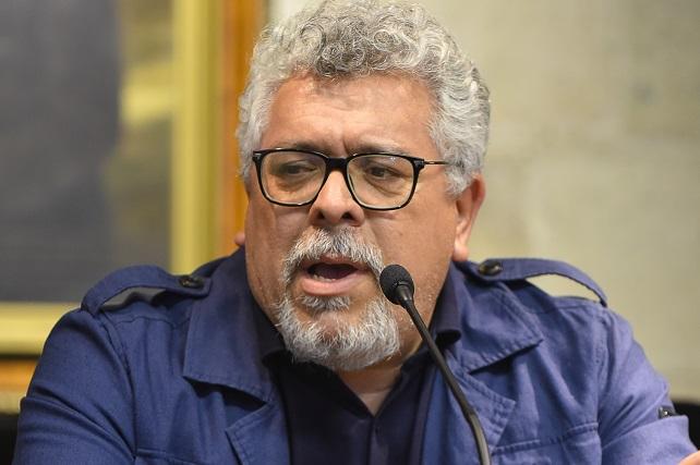Guillermo Perdomo, director de la Casa Museo Tomás Morales de Moya