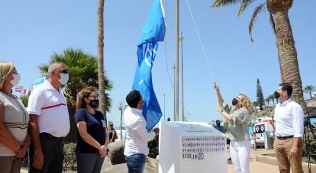 Maspalomas Costa Canaria iza sus nuevas banderas azules