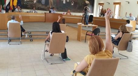 El pleno de Santa Lucía aprueba cambiar la ordenanza para agilizar y simplificar los vados y las obras
