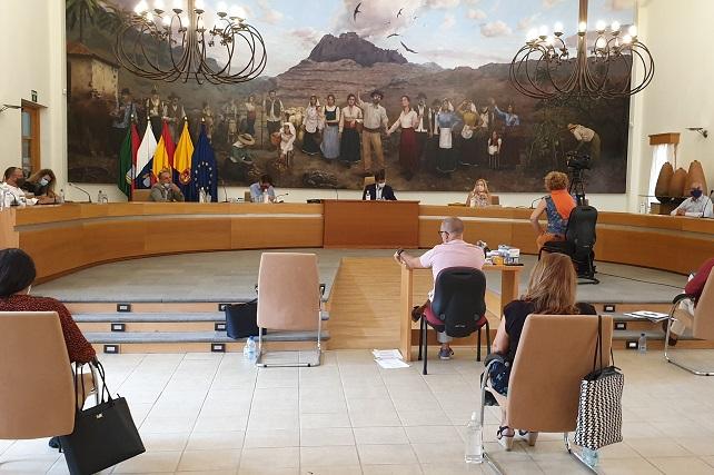 Pleno de Santa Lucía, septiembre 2020