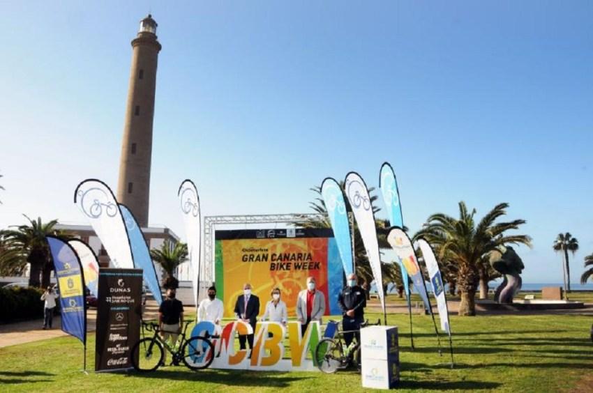 La Gran Canaria Bike Week presenta la 32 edición La mítica cicloturista se celebrará del 5 al 12 de diciembre con el Faro de Maspalomas como sede y con todas las garantías sanitarias