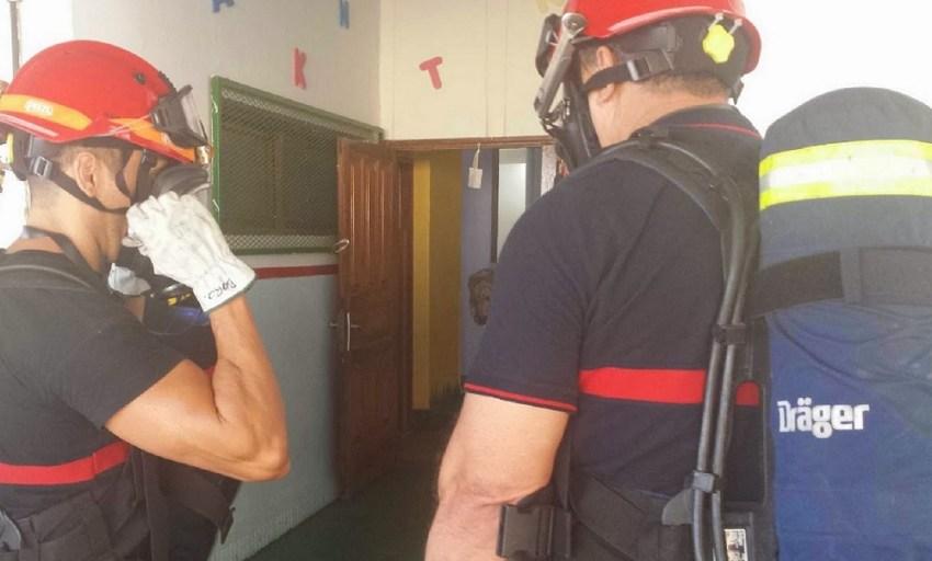 UGT vuelve a denunciar la falta de personal en el Parque de Bomberos de Maspalomas Un positivo por Covid19 generó el aislamiento de la plantilla. Los servicios fueron asumidos por el Consorcio de Emergencias de Gran Canaria
