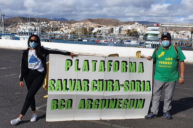 """Salvar Chira-Soria: """"La respuesta a las alegaciones confirma que no cumple con la legalidad"""" Según el colectivo """"significara una sanción de la Unión Europea y puede conllevar el decaimiento de la declaración de la Reserva de la Biosfera de Gran Canaria"""""""