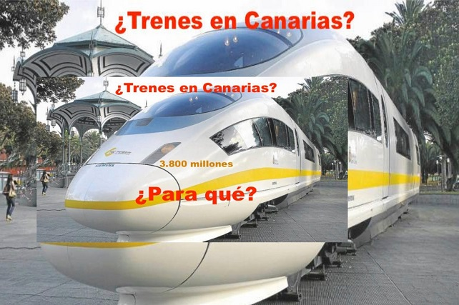 """Los Verdes denuncian """"el derroche de más de 25 millones de euros"""" en un tren inviable No cabe duda que Ferrocarriles de Gran Canaria """"se ha convertido en atractivo objetivo para los partidos gobernantes"""", señala la formación política"""