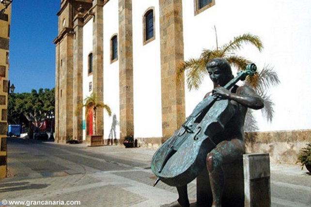 La Escuela Municipal de Música, Danza y Teatro de Agüimes estrena sede El Ayuntamiento reacondiciona un inmueble de titularidad municipal ubicado en el casco histórico de la Villa