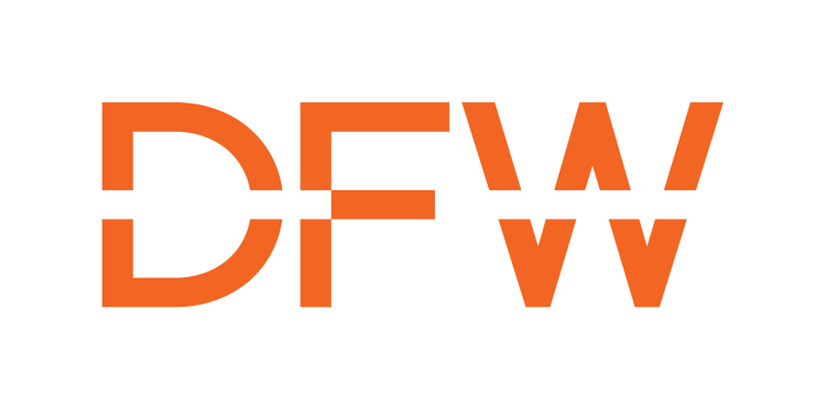 DFW Logo for Photo Booth Event