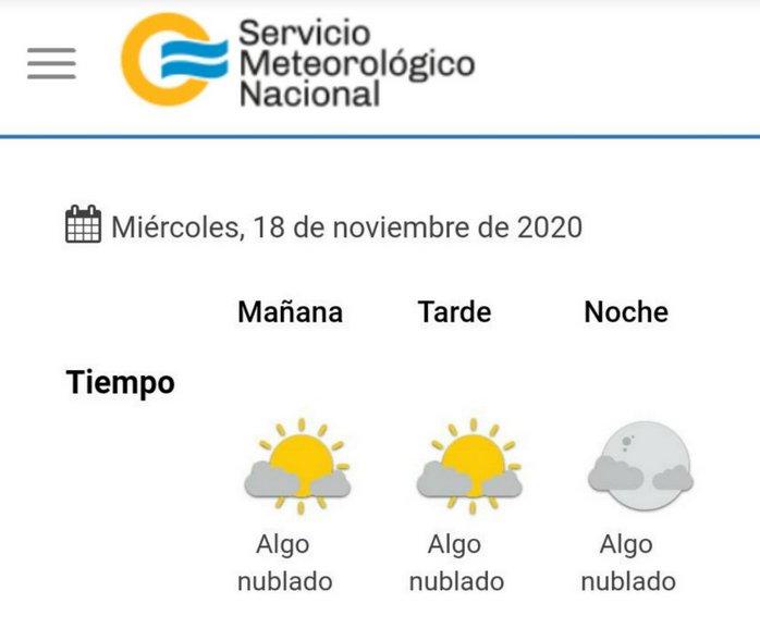 clima 2020-11-18