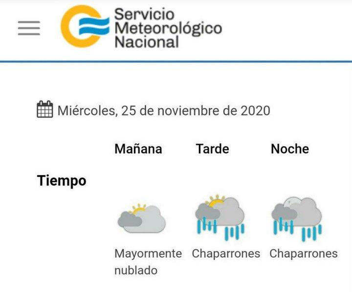 clima 2020-11-25