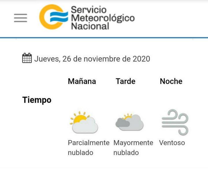 clima 2020-11-26