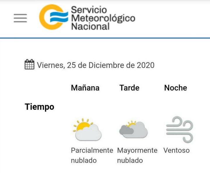 clima 2020-12-25