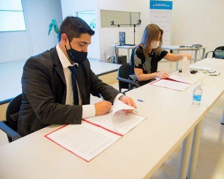El Ministerio de Seguridad y el Gobierno de Santa Cruz firmaron dos convenios de articulación y acordaron la instalación de dispositivos tecnológicos de seguridad