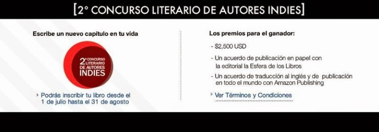 2do Concurso literario autores indies
