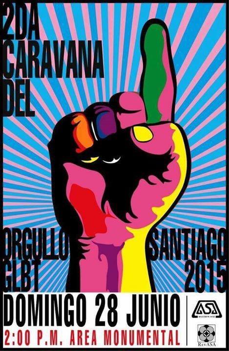 2da Caravana del orgullo GLBT Santiago 2015
