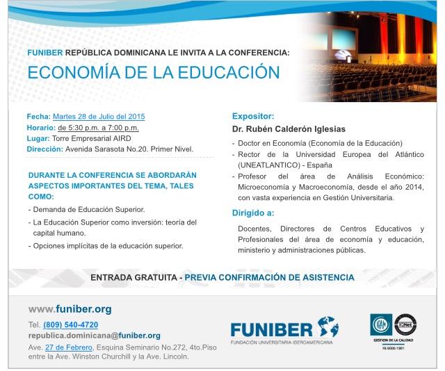Conferencia Economia Educacion