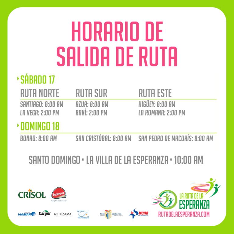 Hora Ruta Esperanza 2015