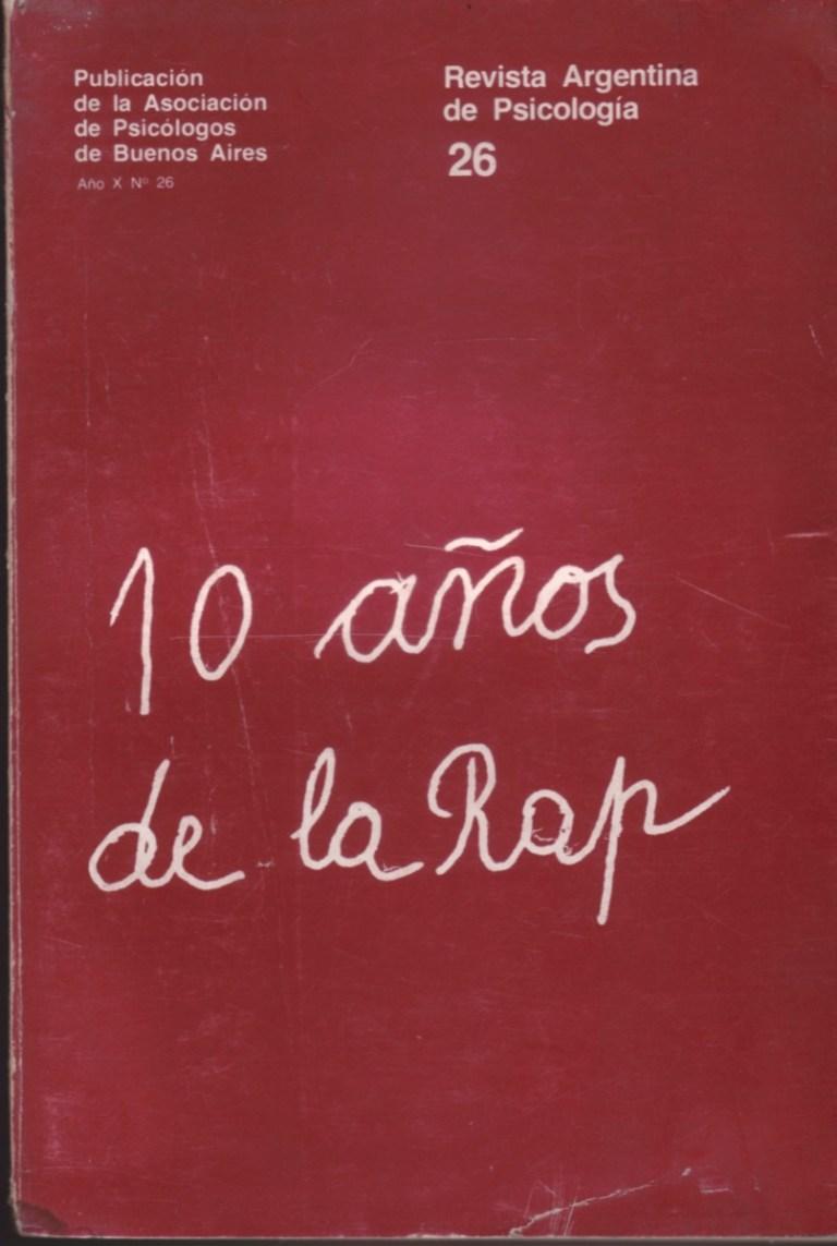 Revista Argentina de Psicologia
