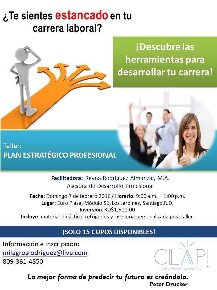 Plan estrategico profesional