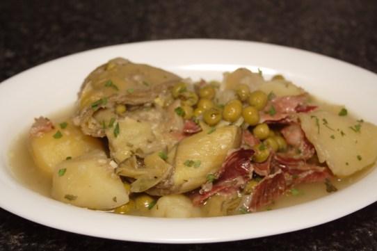alcachofas-con-patatas-y-guisantes-4