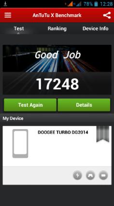 Nuevo resultado dg2014