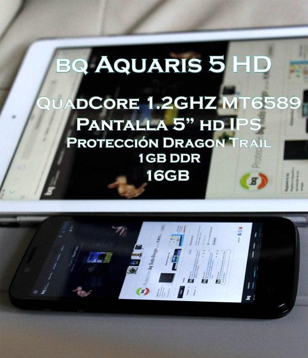 análisis bq aquaris 5 hd