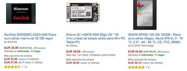 Mejor SSD para Mac