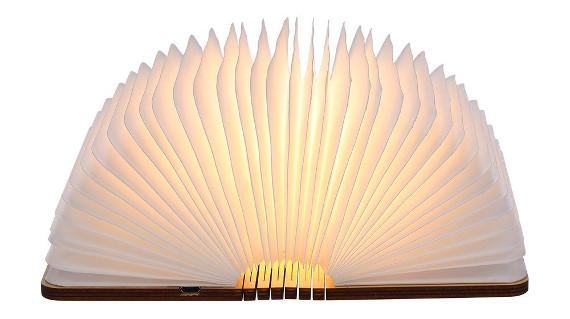 Lámpara de libro