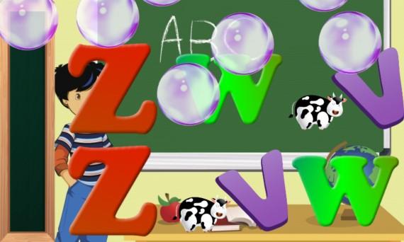 Alfabeto español para niños
