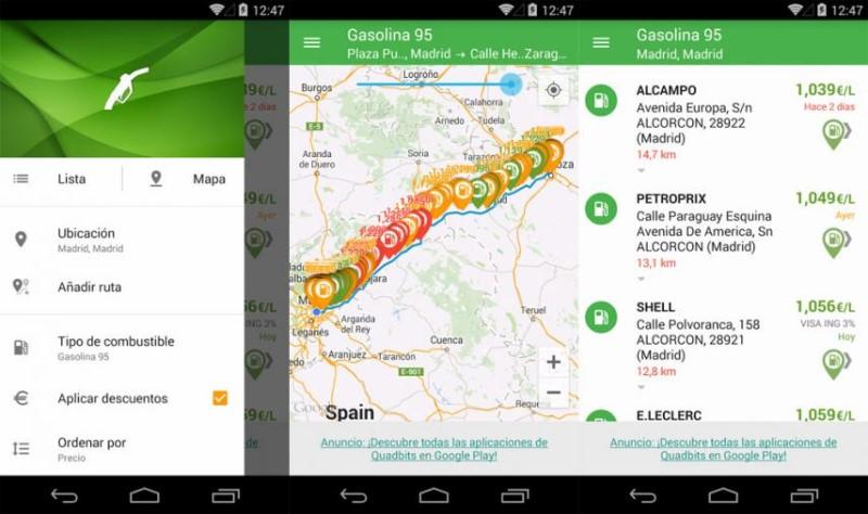 Gasolina y Diésel España