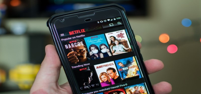 Ver películas en el móvil