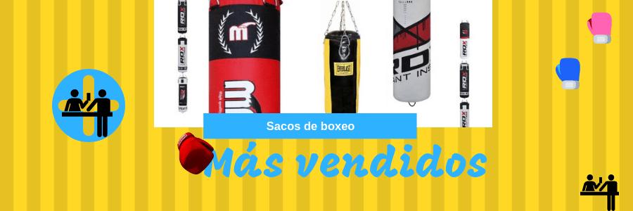 sacos boxeo mas vendidos