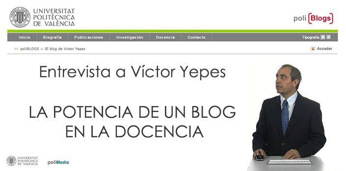 entrevista a victor yepes
