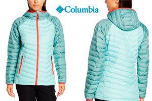 Oferta chaqueta Columbia Powder Lite de mujer barata Amazon
