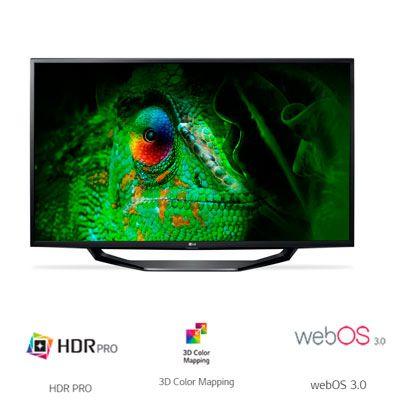 Oferta eBay SmartTV 43UJ620V HDR 4K barata
