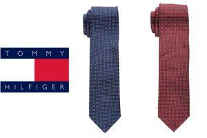 Oferta corbatas Tommy Hilfiger de seda baratas amazon