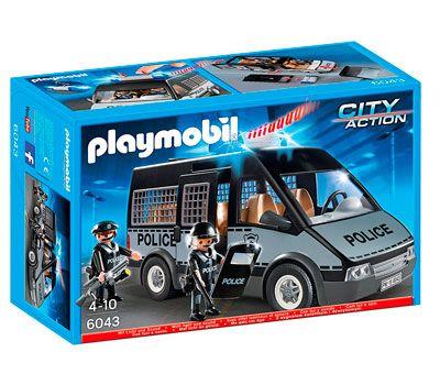 Oferta juguetes de Playmobil baratos furgon de policia