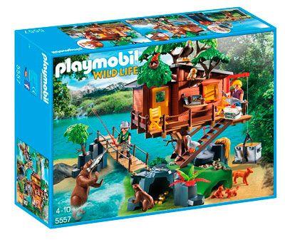Oferta juguetes de Playmobil baratos la casa del arbol barata