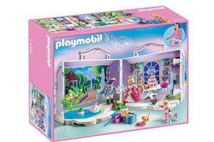 Oferta maletín Playmobil Princesas barato